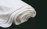 Blanket, White Terry with White Trim Photo