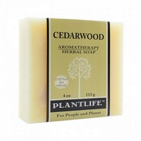Plantlife Cedarwood Soap - 4oz. Photo