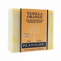 Plantlife Vanilla Orange Soap - 4oz. Photo