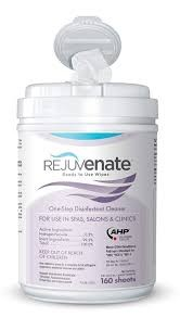 Rejuvenate Disinfectant Cleaner Wipes, 160 ct. **SEE NOTE Photo